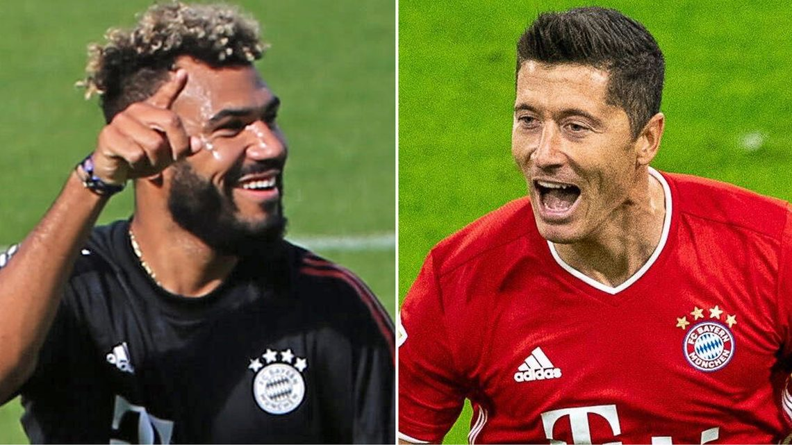 """Lewandowski more clinical than Neymar and Mbappe"" – Choupo-Moting"