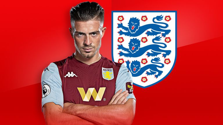 Jack Grealish: Aston Villa playmaker to make first competitive England start against Belgium