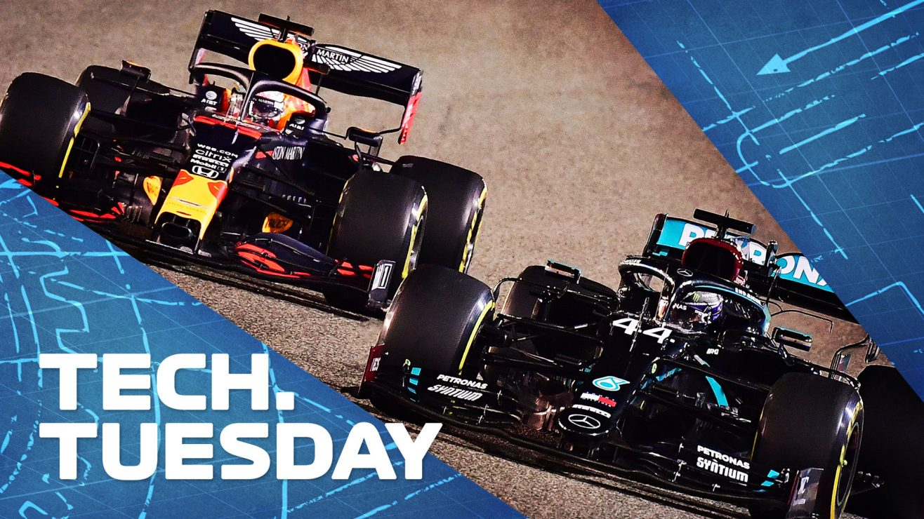 Formula 1 TECH: From DAS to the slotted cape – the top five technical innovations of 2020