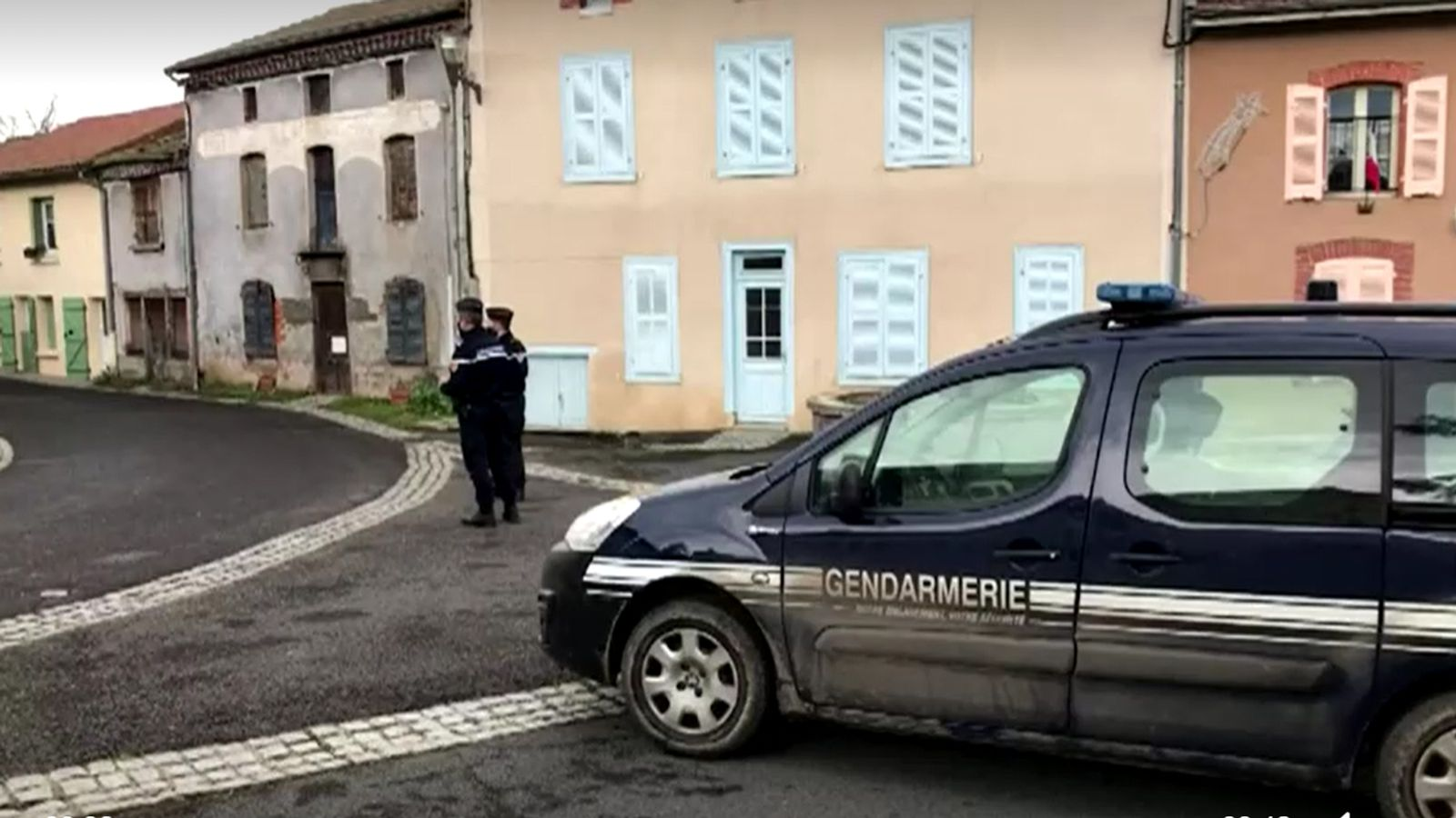 Three police officers shot dead in remote French village