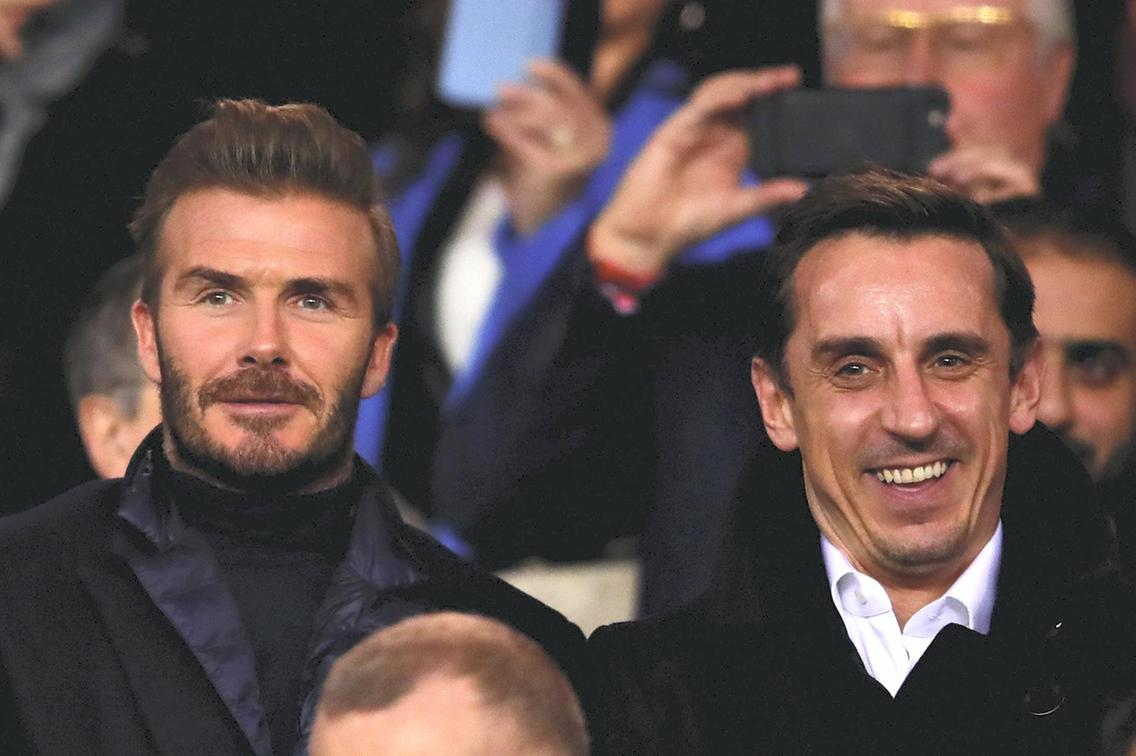 Beckham holds Inter Miami talks with former Man United teammate Phil Neville – sources